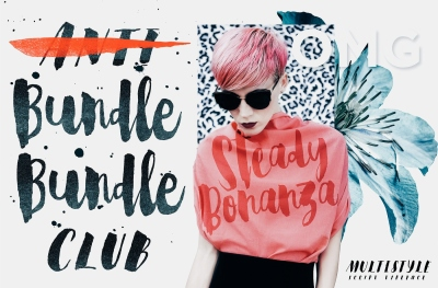 Steady Bonanza Multistyle Fonts