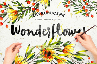 Wonderflower Watercolor Set