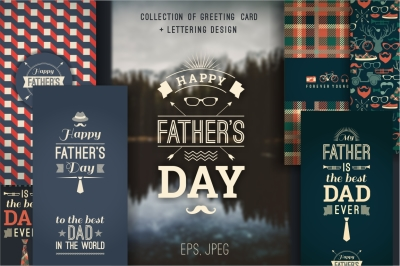 Happy Father's Day collection.
