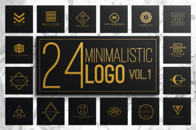 Minimalistic Logo VOL.1