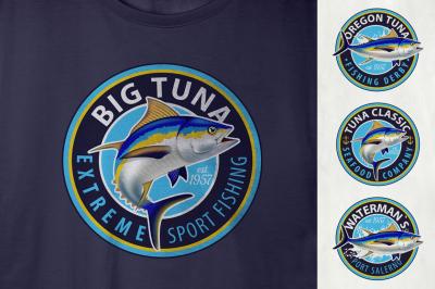 Yellowfin Tuna Logos