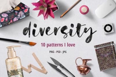 Diversity - pattern set