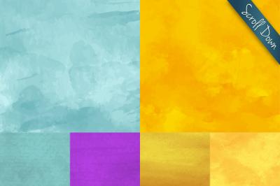 30 Watercolor vector backgrounds