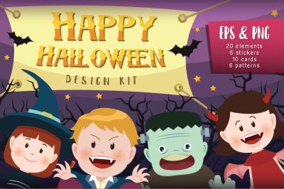 Happy Halloween Design Kit