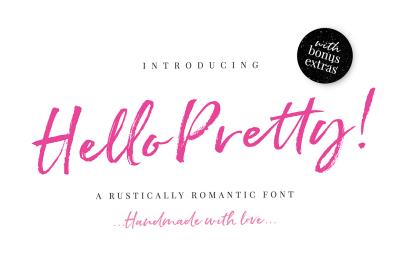 Hello Pretty Script & Extras