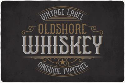 Oldshore Whiskey Typeface