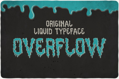Overflow Typeface