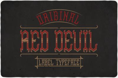 Red Devil Typeface