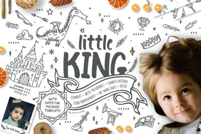 Little King - Fantastic Graphic Kit for Boys