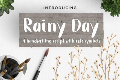 Rainy Day Handwriting Script Font