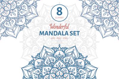 Wonderful Mandala Set I
