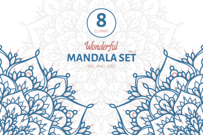 Wonderful Mandala Set II