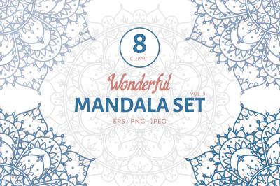 Wonderful Mandala Set III