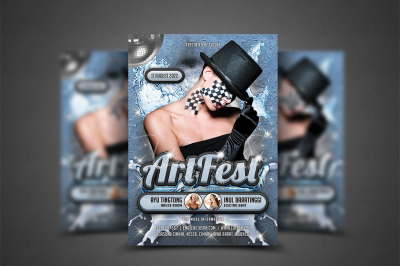 Art Fest Flyer Template