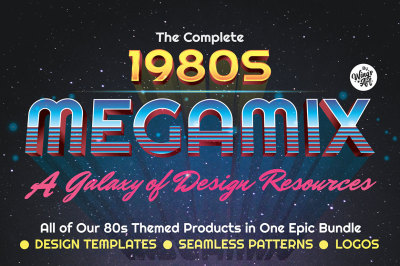 The Complete Eighties Megamix Graphics Bundle
