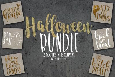 Halloween SVG bundle, PNG & EPS