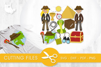 Lost Treasure  SVG, PNG, EPS, DXF, cut file