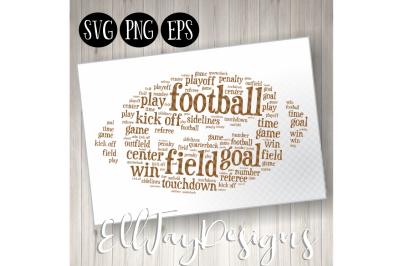 Football Wordart