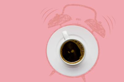 Alarm coffee.