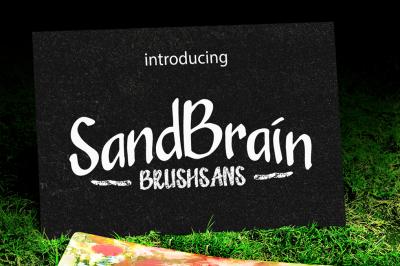 SandBrain (4 font)