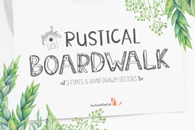 Rustical Boardwalk