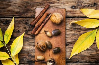 symbolic autumn background
