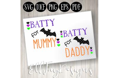 Batty for Mummy and Daddy Bundle
