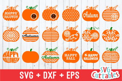 Pumpkins set of 18