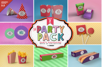 The Party Pack MockUps Vol.2