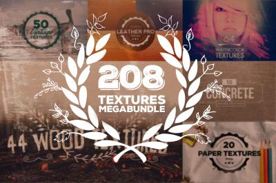 208 Textures Mega Bundle