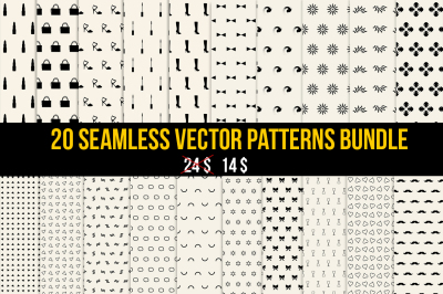 Seamless Vector Patterns Bundle