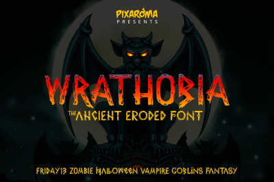Wrathobia Display Font