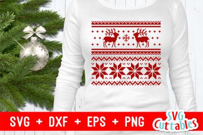 Christmas Sweater Svg On All Category Thehungryjpeg Com
