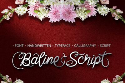 Baline Script Font