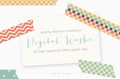 Washi clipart, washi tape clipart, discount clipart, digital washi, tape clipart, washi graphics, tape graphics, chevron washi clipart,