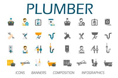 Plumber flat set