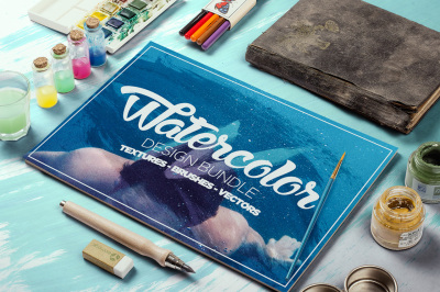 The Watercolour Design Bundle