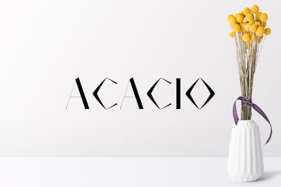Acacio Serif 2 Font Family Pack