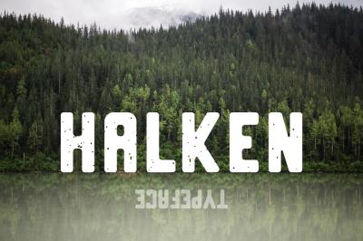 Halken Typeface