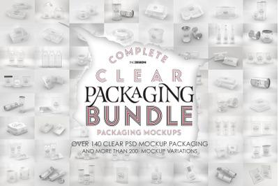 Bundle: Clear Packaging Mock Ups