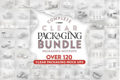 Bundle: Clear Packaging Mock Ups