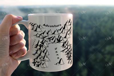 Adventure Mug Mock-up