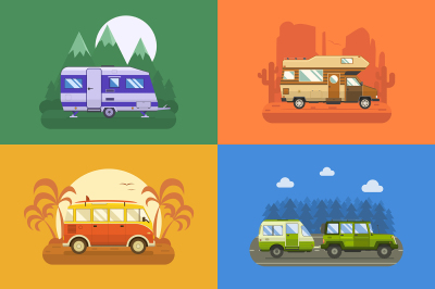 RV Campers and Trailers Collection