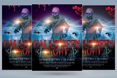 Halloween Night Flyer