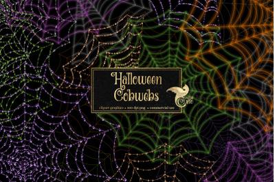 Halloween Cobweb Clipart