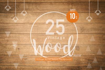 25 Vintage Wood Texture selected 01