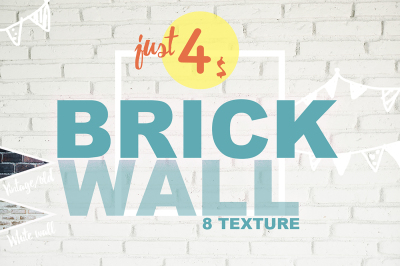 8 Brick wall texture selected