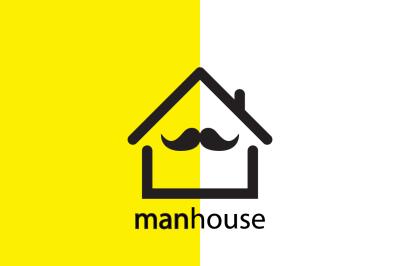 Man House Logo Design