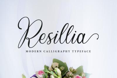 Resillia Script (30% OFF)