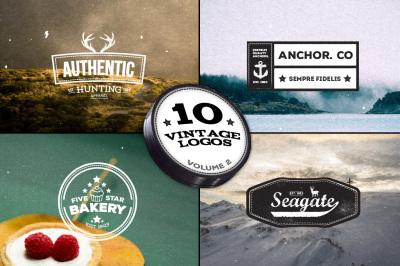 10 Vintage Logos - Volume 2